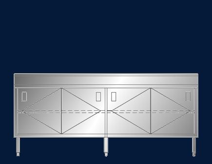 """24"""" x 7' ASEI-BTSD-2484"""