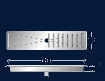 "12"" x 60"" Trough ASEI-FT-1260"