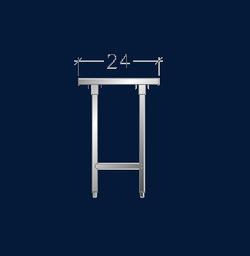 """24"""" Wide Work Tables w/ Cross-Rails"""