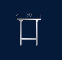 """30"""" Wide Work Tables w/ Cross-Rails"""