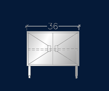 """30"""" x 3' ASEI-BTHD-3036"""