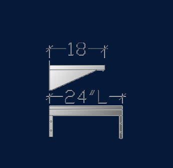 """18"""" x 2' ASEISSS1802"""