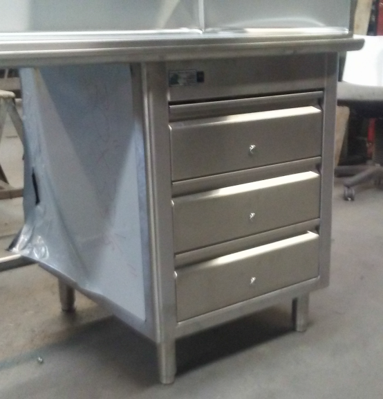 Three Tier Drawer Unit