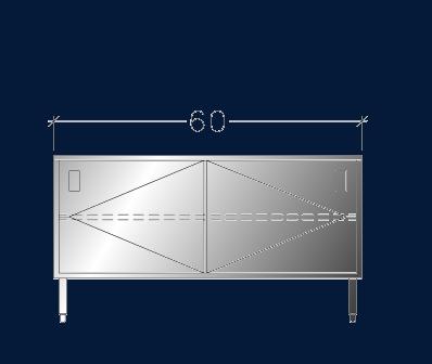 """30"""" x 5' ASEI-BTSD-3060"""