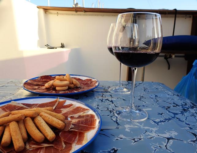 Boat Trip Snacks _ Casa De Marbella