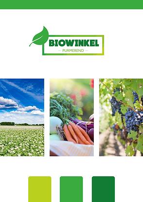 Branding card Biowinkel Purmerend