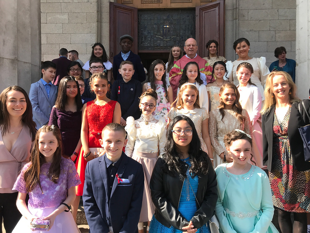 Congratulations to all the children who made their confirmation in the Pro Cathedral today.