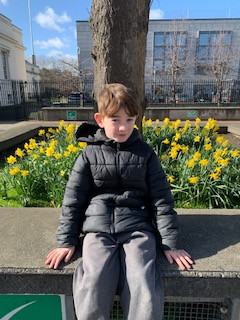 Spring is in the air. Great to see the daffodils in bloom in the school yard.