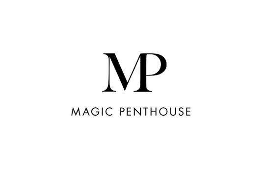 Magic Penthouse Logo Black White - Copy.