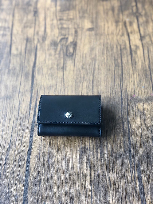 Mini Wallet / Silver Concho