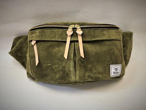 Suede X-Large Body Bag Olive (Desert)