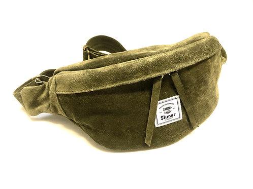 Suede Medium Body-bag Olive (Desert)