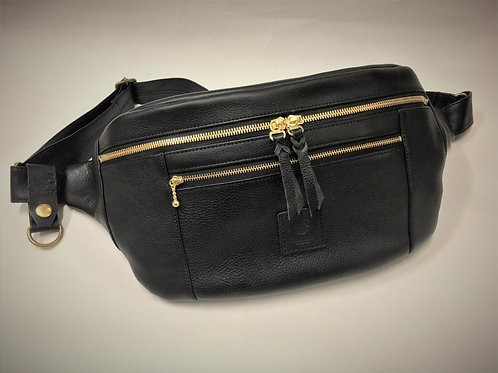 Leather Large Body Bag (Decent)