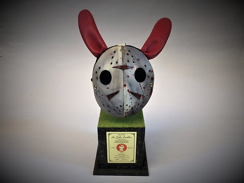 """1 Eye Debbit"" on the Jason Mask"