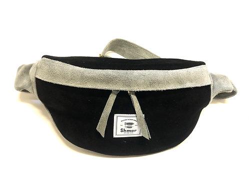 Suede Medium Body-bag Ash / Black (Desert)