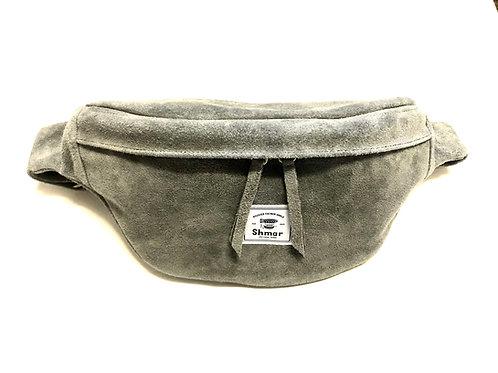 Suede Medium Body-bag Ash (Desert)