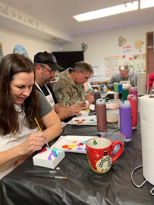 In-Studio Paint Parties