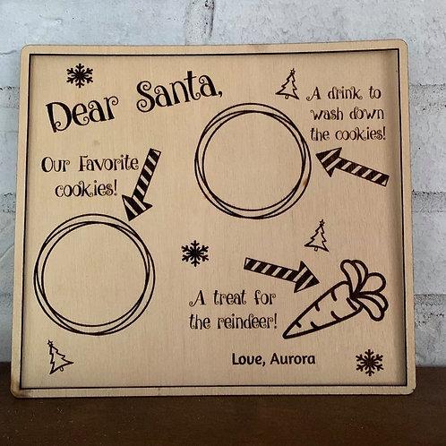 Custom Santa Tray
