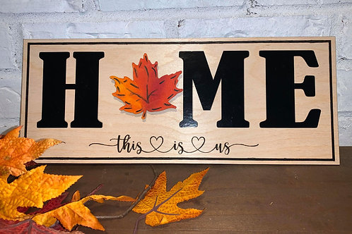 """Home Sign Base only - see tab for """"O"""" options"""
