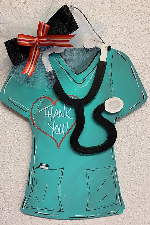 DIY Wooden Nurse Door Hanger Kit