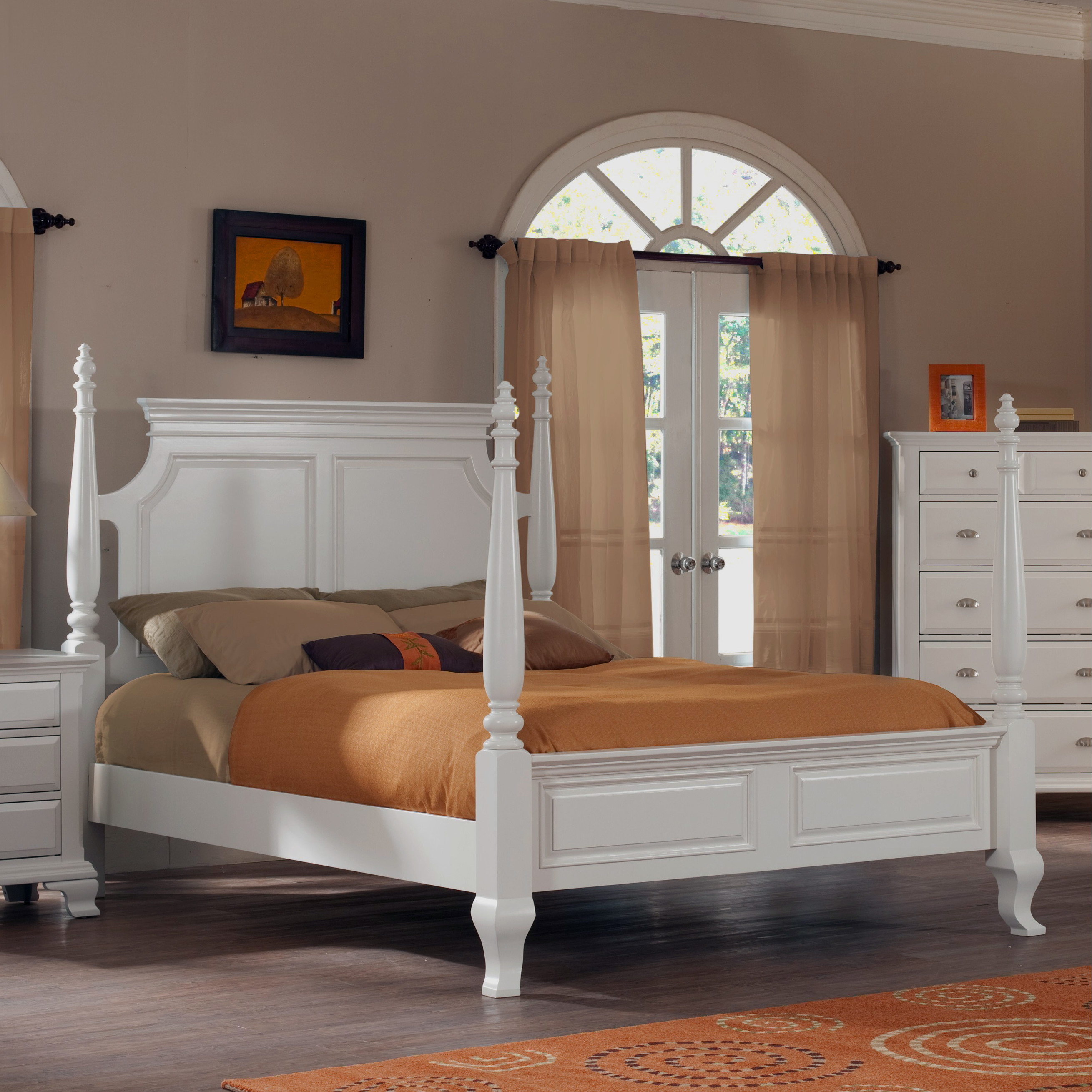 b012pq Roundhill Furniture Laveno Poster Bed