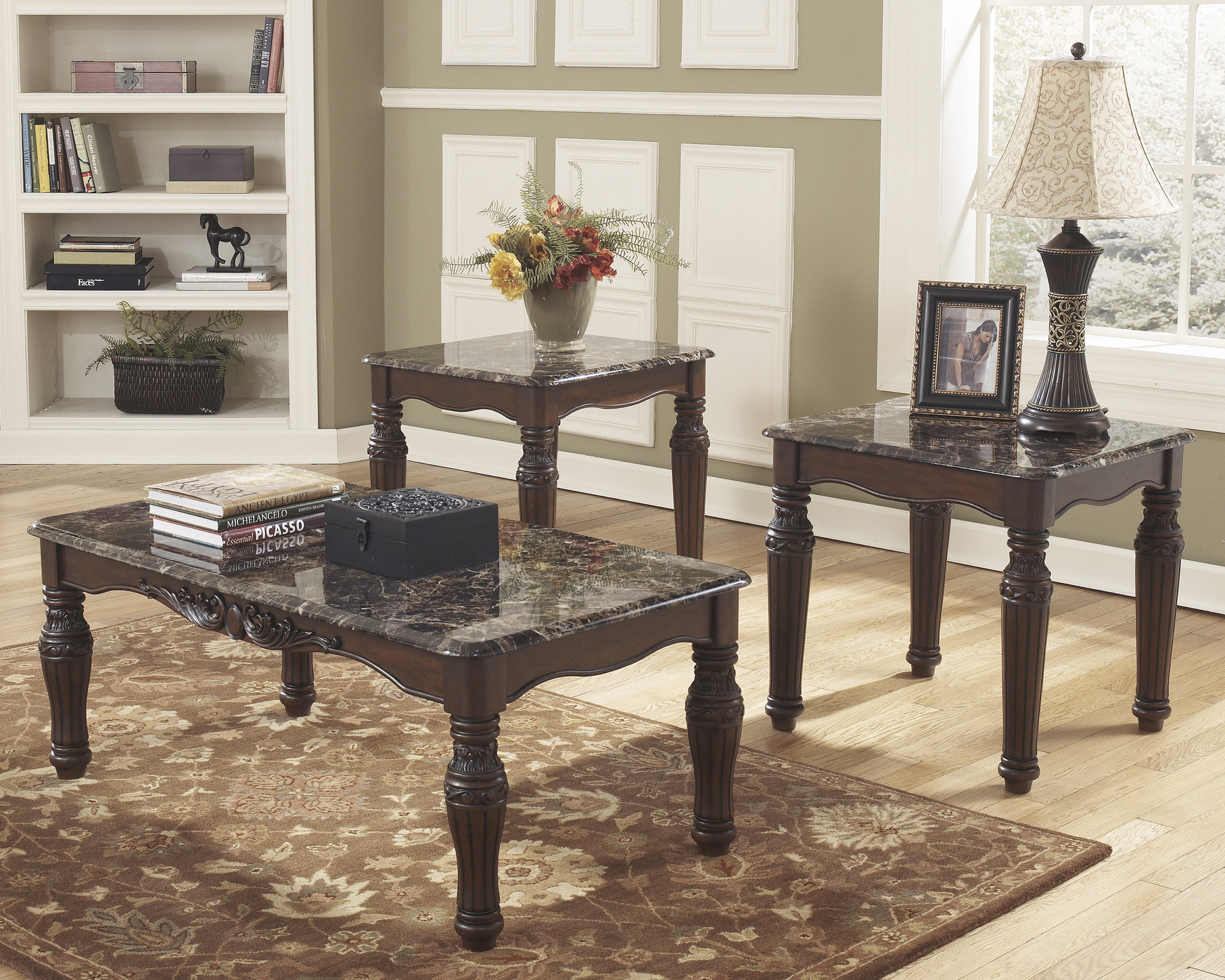 t533-13 North Shore Occasional Table Set