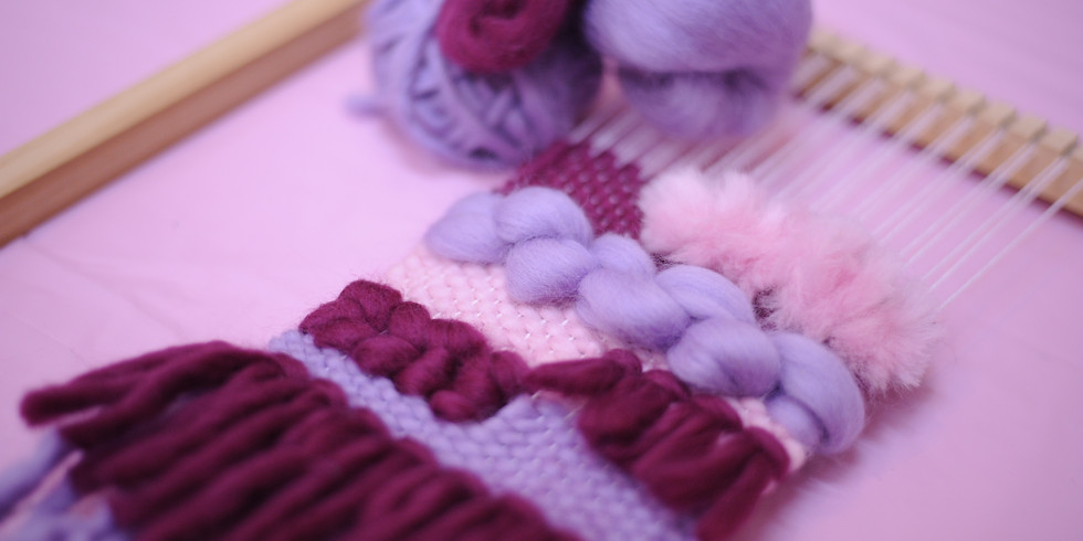 Mindful Making - Weave a Wall Hanging