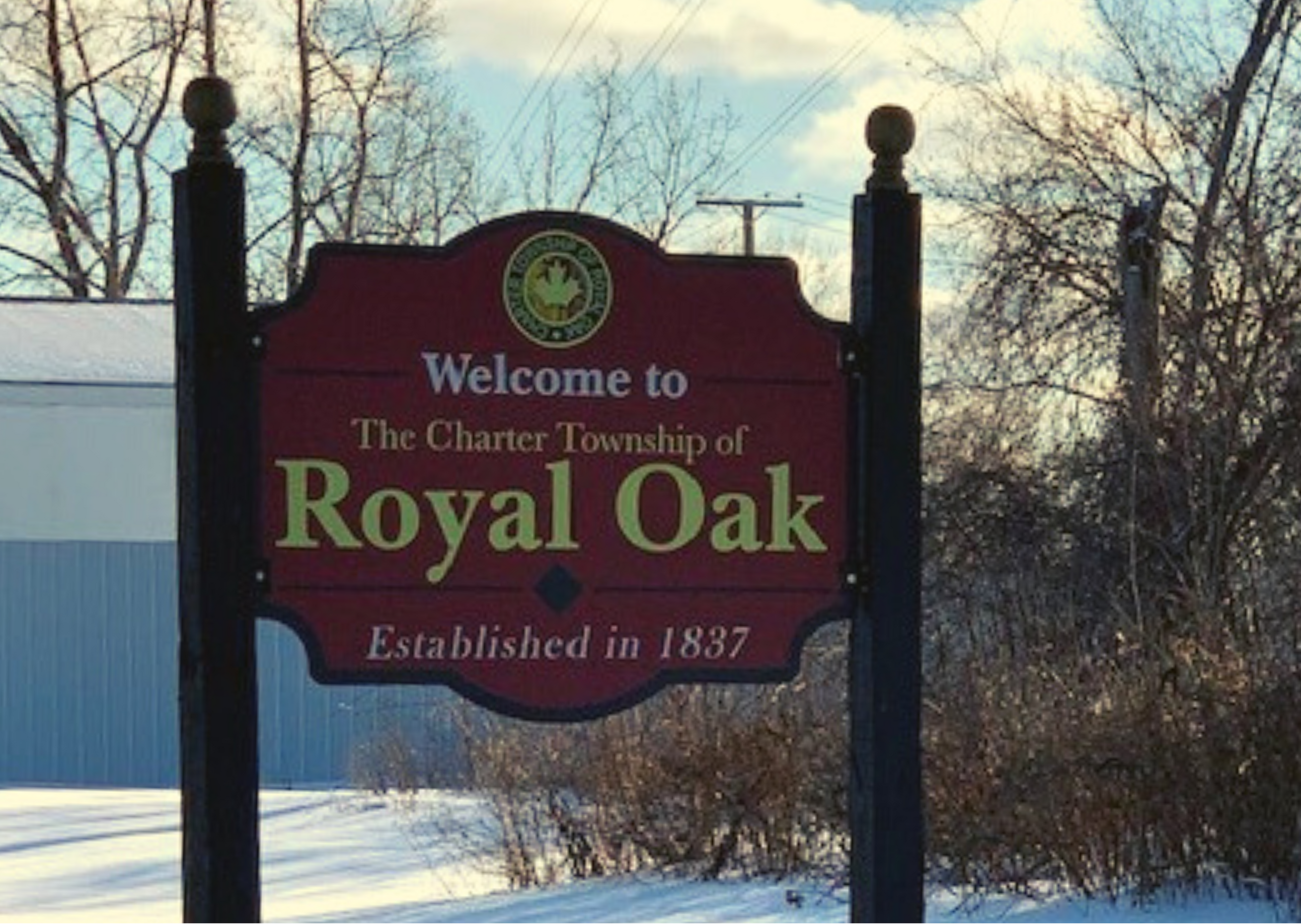 Royal Oak Township Entry