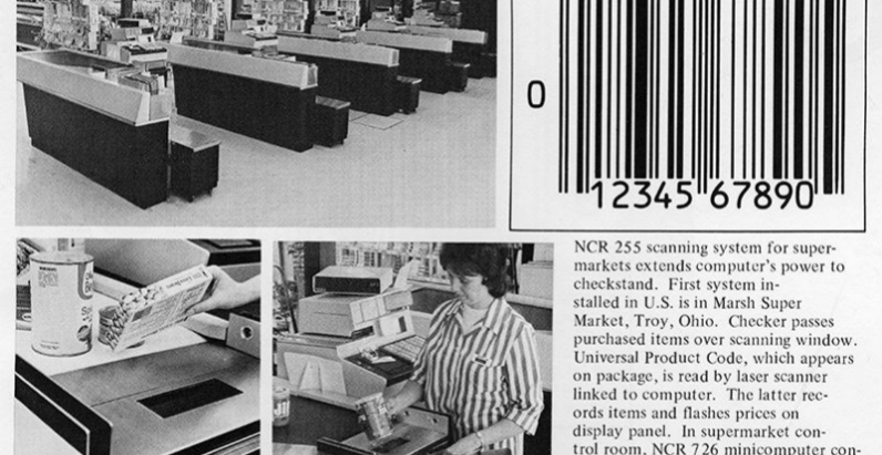 The First Bar Code in the History