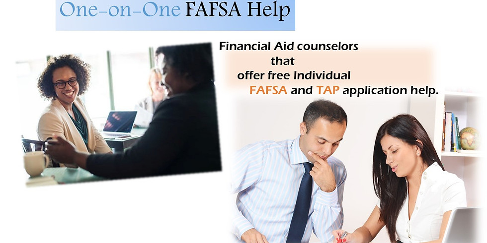 One-on-one FAFSA Application Help