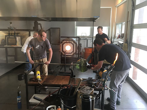 Glassblowing Studio in Denver