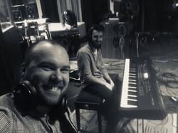 nahrávání ve studiu 3bees Jinočany 2020