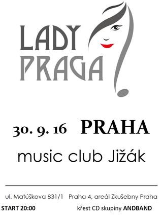 Debutový koncert s LadyPraga