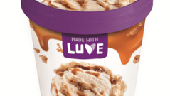Made with Luve - Lupinen Eis Keks Karamell