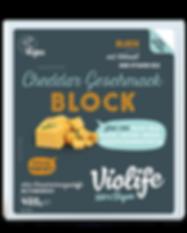 Veganer Käse Block Cheddar