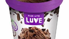 Made with Luve - Lupinen Eis Schokolade