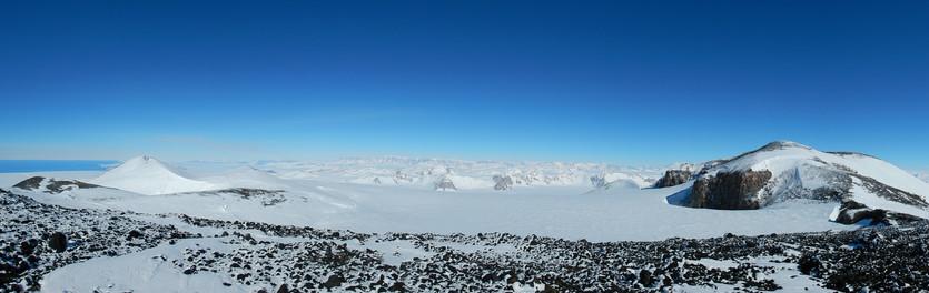Mt. Melbourne: summit area