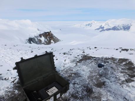 Antarctica ICEVOLC project seismology volcanoes Melbourne Rittmann