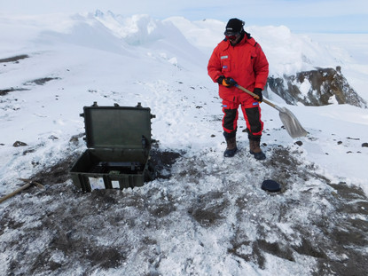 Antarctica ICEVOLC project seismology volcanoes Melbourne Rittmann