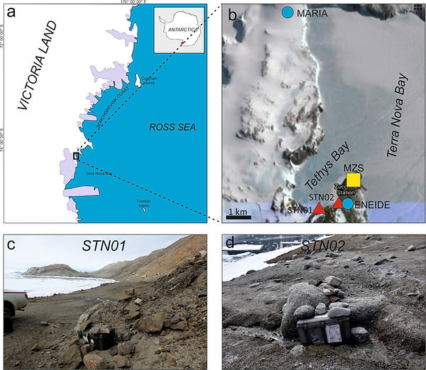 Antarctica seismology ICEVOLC