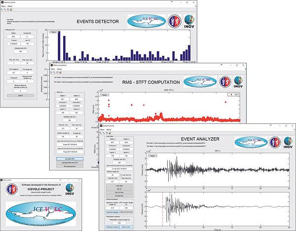 Antarctica ICEVOLC project seismology