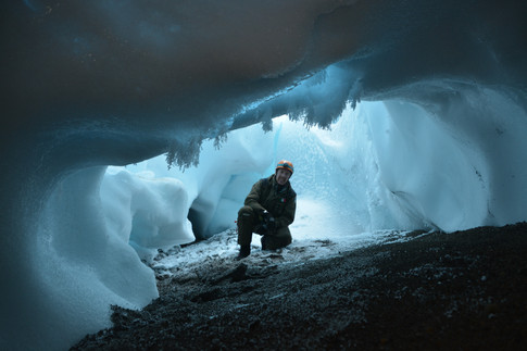 Antarctica ICEVOLC project ice-caves volcanoes Melbourne Rittmann