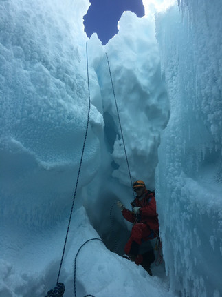 Antarctica ice-caves ICEVOLC volcanoes