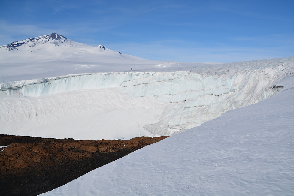 Antarctica ICEVOLC project rock geochemistry volcanoes