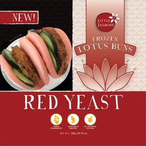 Red Yeast Lotus Buns