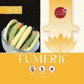 Tumeric Lotus Buns