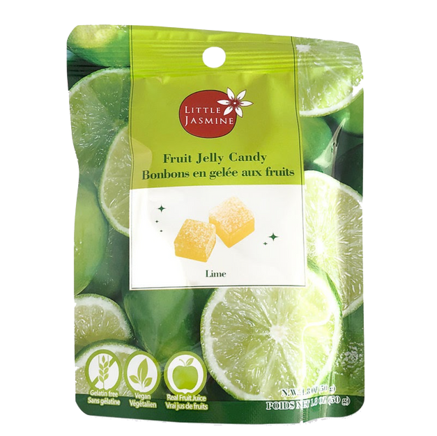 Soft Vegan Jelly Candy - Lime