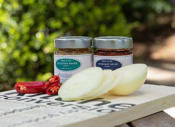 Italian Sauces: Midnight Spice & Delicious Onion