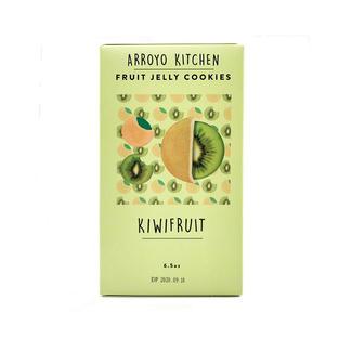 Soft Fruit Jelly Cookies: Kiwi