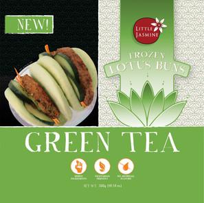Green Tea Lotus Buns